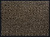 Intrada Nederland Schoonloopmat / deurmat - 90 x 60 cm - Bruin