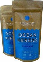 Ocean Heroes Omega 3 Algenolie - Hoge Concentratie EPA + DHA - 120 Capsules - Vegan Voedingssupplement