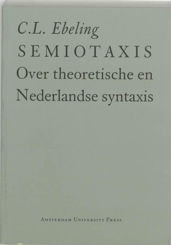 Semiotaxis - C.L. Ebeling |