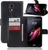 LG X Screen Hoesje Case Zwart