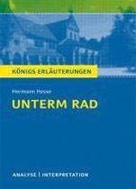 Unterm Rad. Textanalyse und Interpretation
