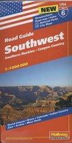 Hallwag USA Road Guide 06. Southwest 1 : 1 000 000