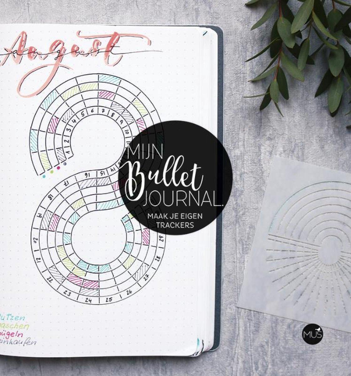 Mijn Bullet Journal - Maak je eigen Trackers + Bullet Journal Guide Ruler - Tracker