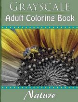 Grayscale Adult Coloring Book