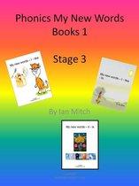 Omslag Phonics My New Words Books 1