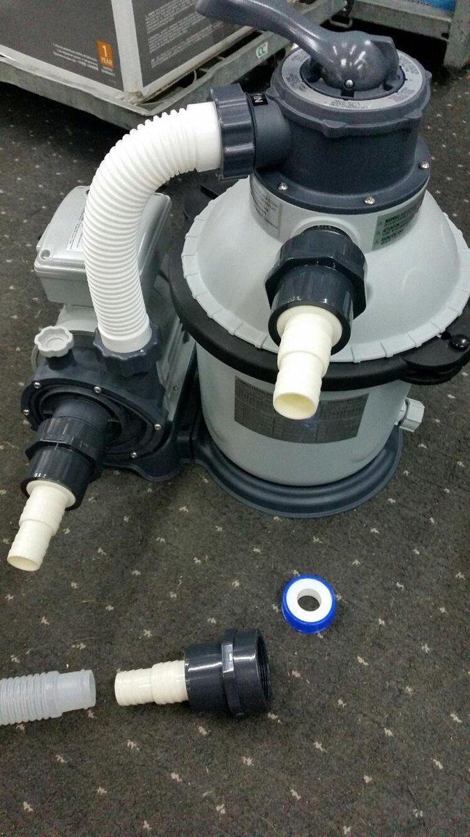 Adapter E5 connector pomp (slang 38mm) -> 38/32mm slang