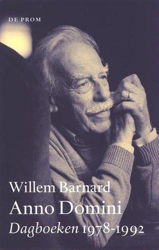 Boek cover Anno Domini van Willem Barnard (Onbekend)