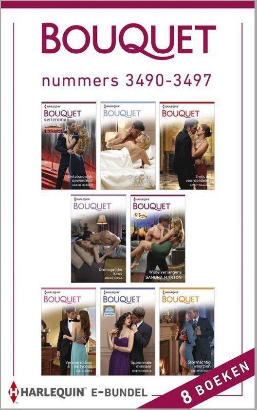 Bouquet e-bundel nummers 3490-3497, 8-in-1 - Sandra Marton |