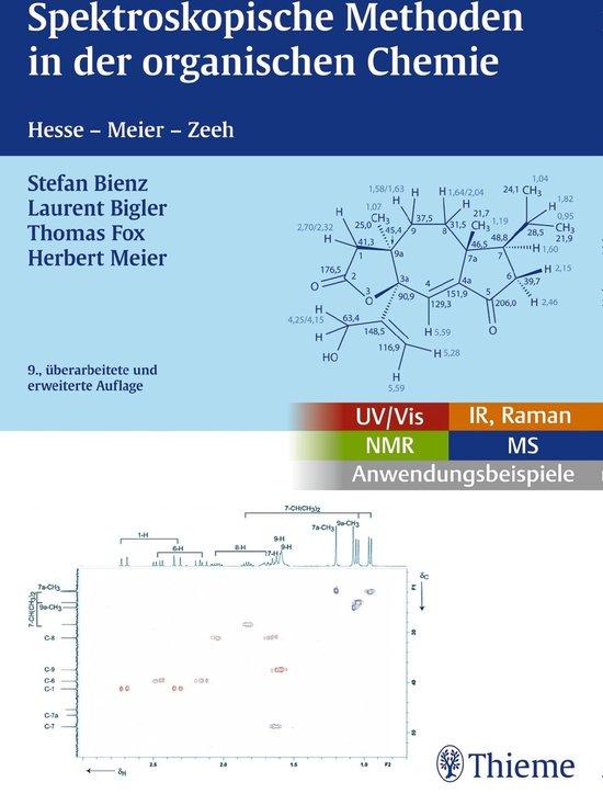 Boek cover Spektroskopische Methoden in der organischen Chemie van Stefan Bienz (Onbekend)