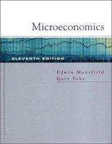 Boek cover Microeconomics van Edwin Mansfield