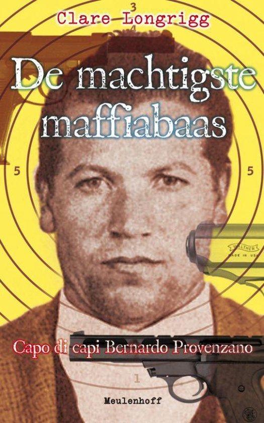 Cover van het boek 'De machtigste maffiabaas' van C. Longrigg