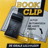 BookClip - handige slimme boekenlegger - blijft vanzelf op de juiste bladzijde