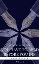 Boek cover 50 Masterpieces you have to read before you die vol: 2 (Book Center) van Jane Austen