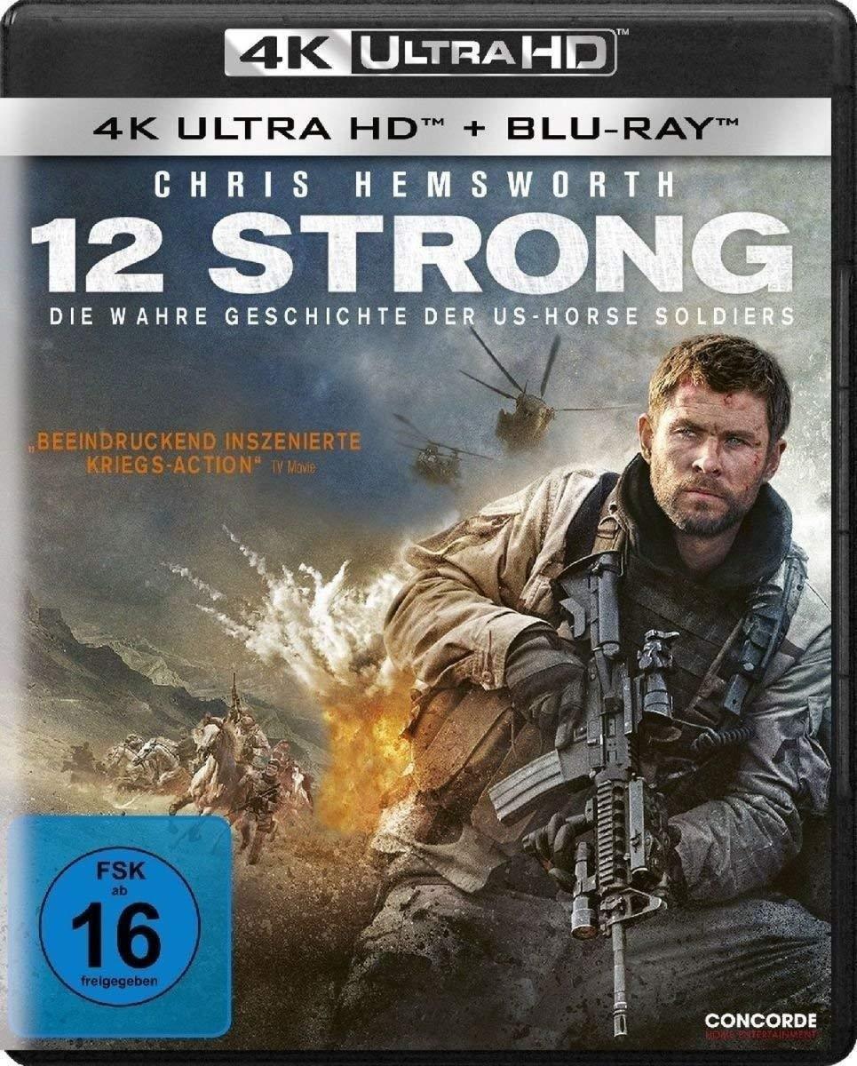 12 Strong (Ultra HD Blu-ray & Blu-ray)-
