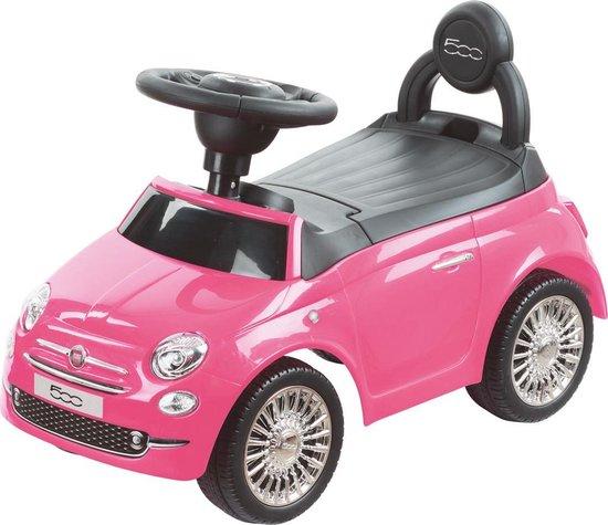 Happy Baby - loopauto - Fiat 500 Roze