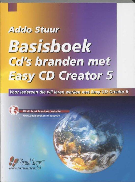 Cover van het boek 'Basisboek Cd's branden met Easy CD Creator 5'