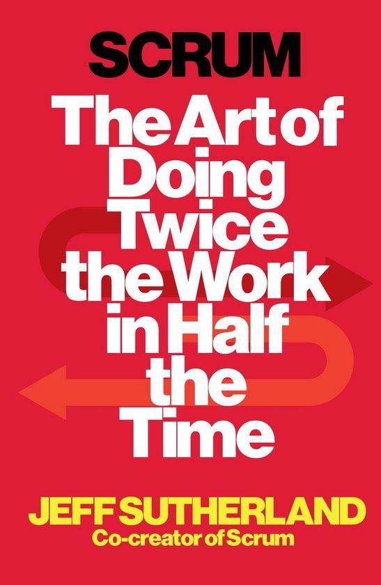 Boek cover Scrum van Jeff Sutherland (Onbekend)