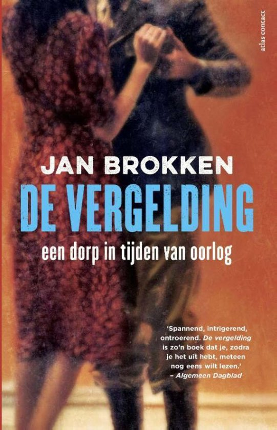 Boek cover De Vergelding - excl uitgave voor Bruna B.V. van Jan Brokken (Paperback)