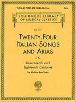 Boek cover TWENTY FOUR ITALIAN SONGS & ARIAS van Divers
