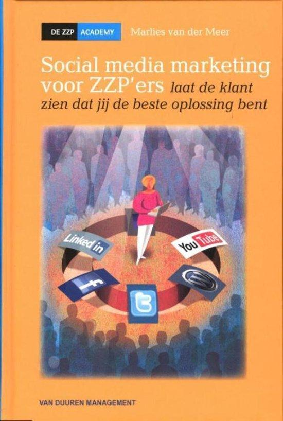 Social media marketing voor zzp'ers - Marlies van der Meer pdf epub