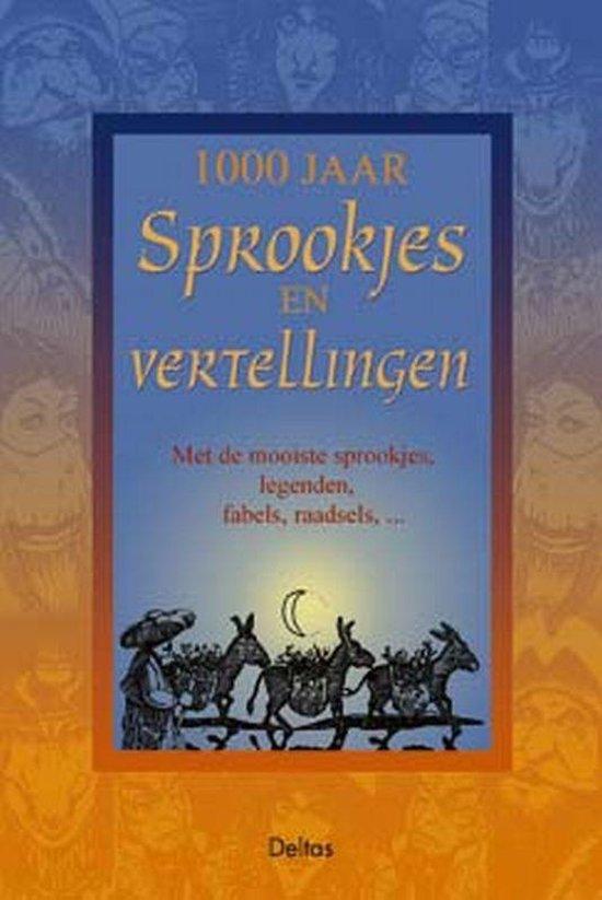 Cover van het boek '1000 jaar sprookjes en vertellingen'