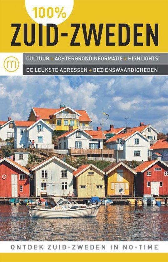 Cover van het boek '100%  / Zuid-Zweden' van Eja Nilsson