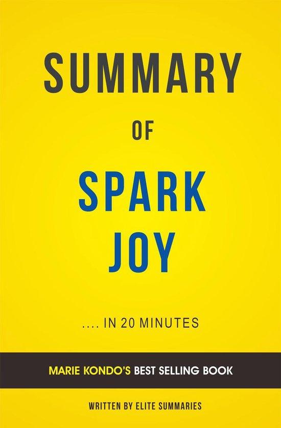 Boek cover Summary of Spark Joy: by Brené Brown   Includes Analysis van Elite Summaries (Onbekend)