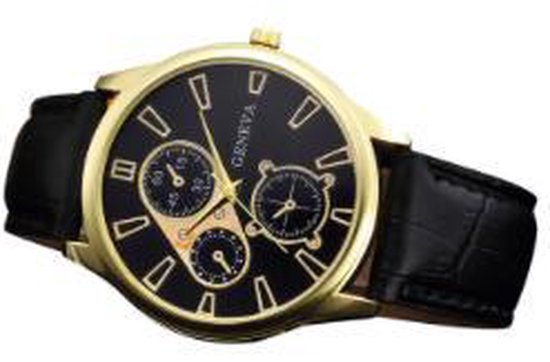 malloom Horloge – Zwart/Zwart