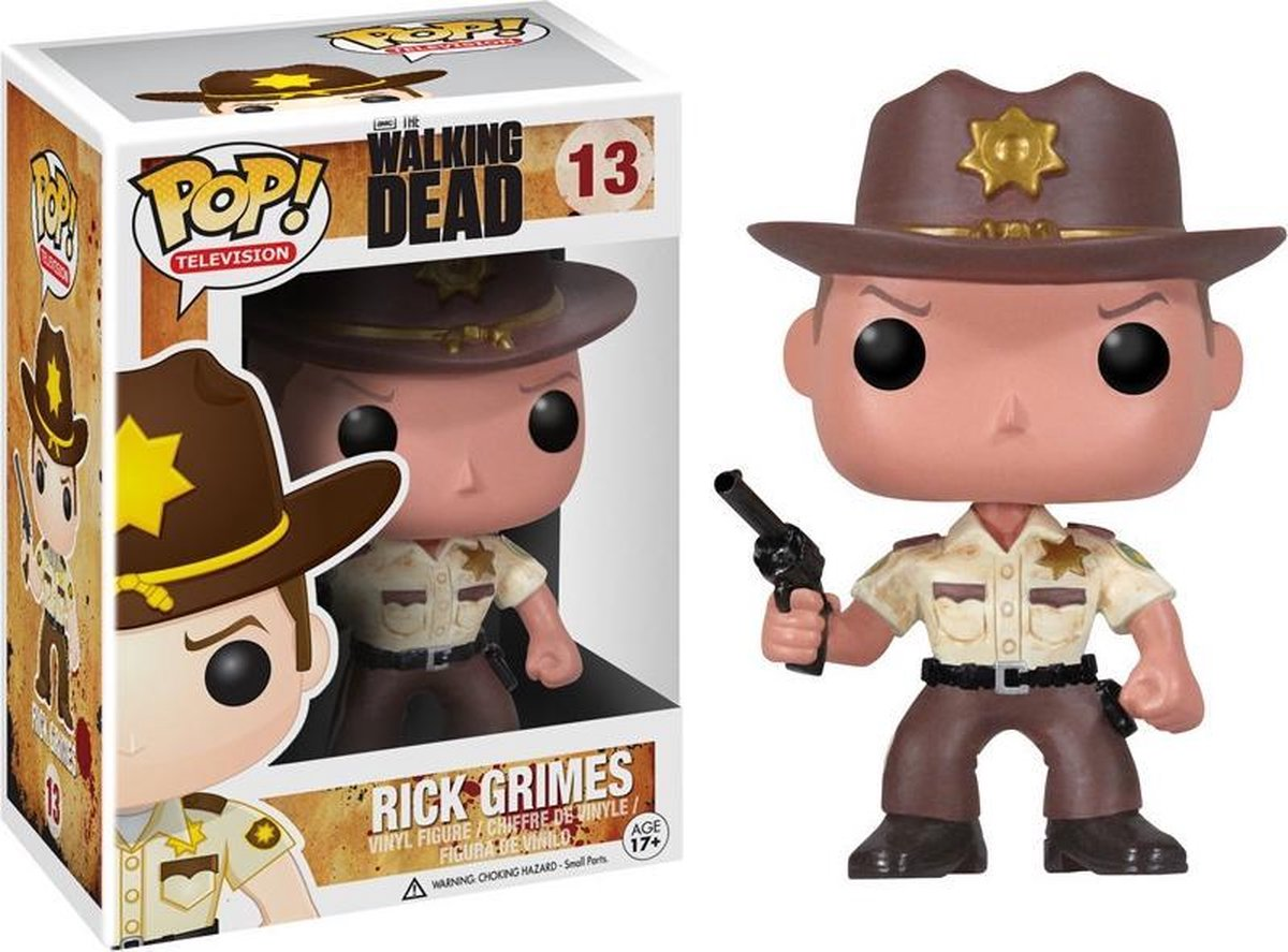 Funko: Pop The Walking Dead - Rick - Tv Series