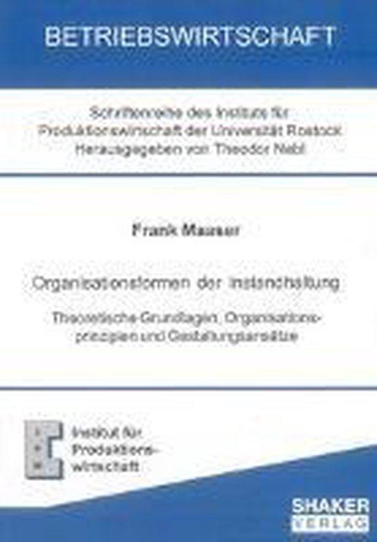 Organisationsformen der Instandhaltung