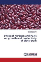 Effect of Nitrogen and Pgr's on Growth and Productivity of Black Gram