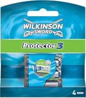 Wilkinson Sword Protector 3 scheermesje Mannen 4 stuk(s)