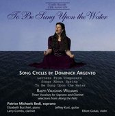Songs By Argento & Vaughan Williams
