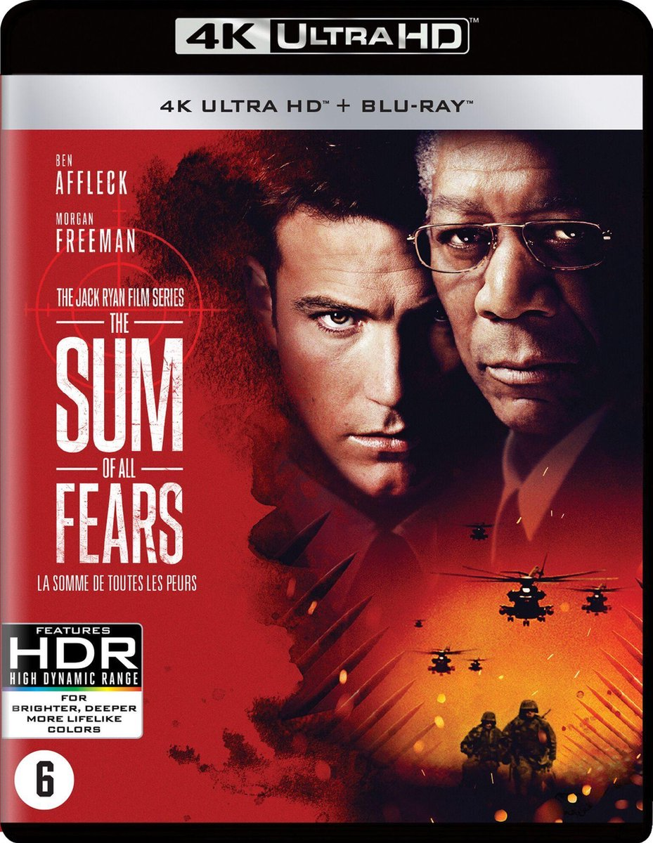 The Sum of All Fears (4K Ultra HD Blu-ray)-