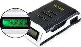 Ninzer Smart batterij oplader voor AA en AAA batterijen met LCD scherm