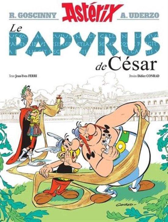 Boek cover Asterix Le papyrus de Cesar van Rene Goscinny