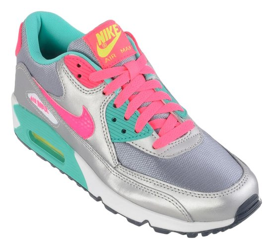 nike air max zilver roze