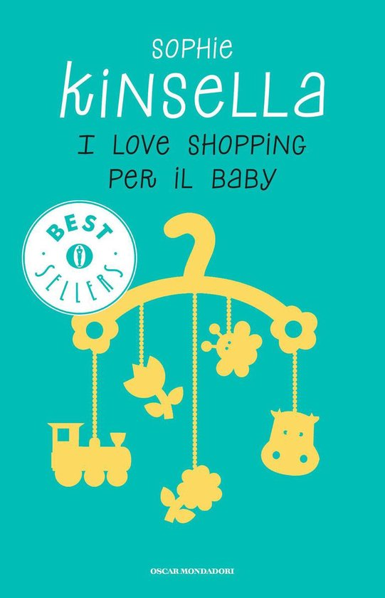 Omslag van I love shopping per il baby