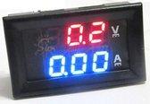 Inbouw LED Digitale Voltmeter DC 0-100V, Amperemeter 10A
