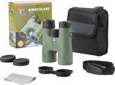 MacGyver Verrekijker 8 x 42 Bak4 - Ideaal voor vogelaars - Haarscherp en Waterproof - Multi coated - Ook voor brildragers - Groen