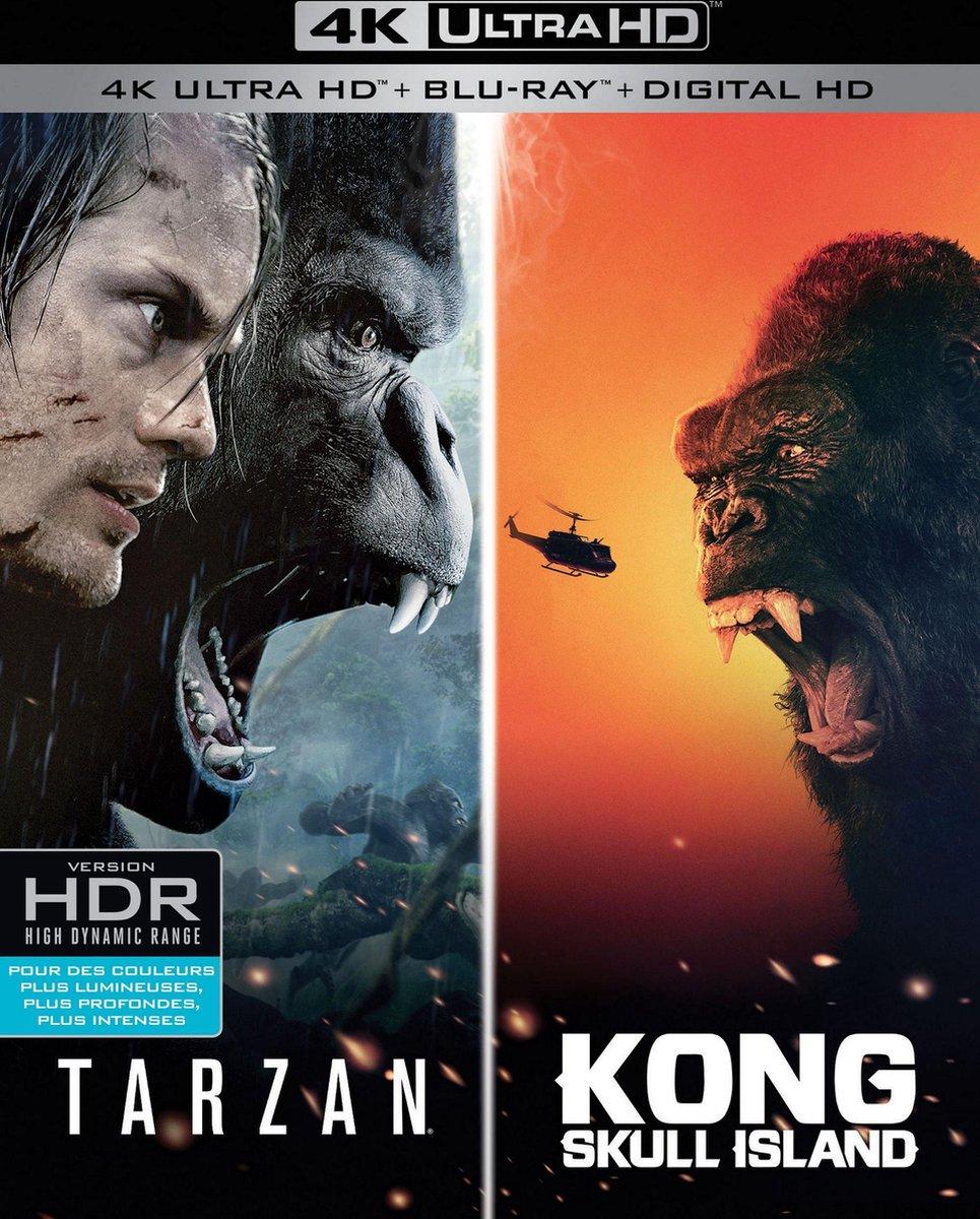 Kong + Tarzan (4K Ultra HD Blu-ray)-
