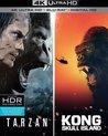 The Legend of Tarzan & Kong: Skull Island (4K Ultra HD Blu-ray)