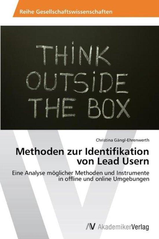 Methoden zur Identifikation von Lead Usern