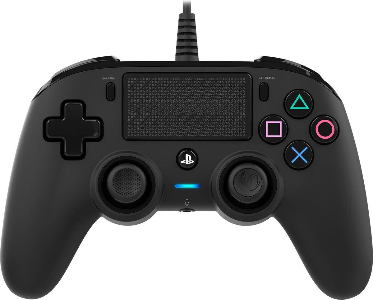 Nacon Compact Official Licensed Bedrade Controller - PS4 - Zwart
