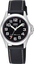 Lorus RRS53LX9 horloge dames - zwart - edelstaal
