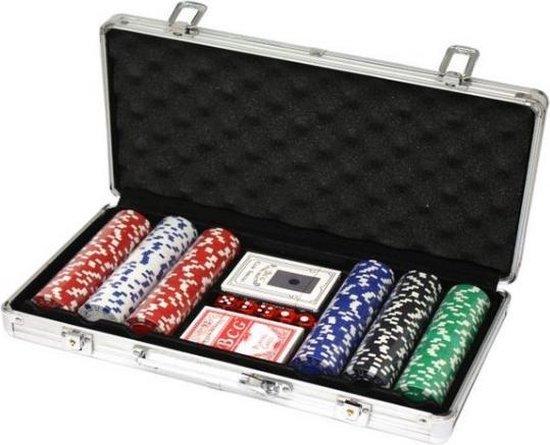 Afbeelding van het spel Professionele Poker set in aluminium koffer