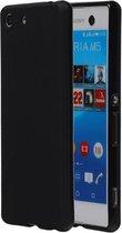 Sony Xperia M5 TPU Hoesje Zwart