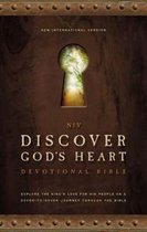 NIV, Discover God's Heart Devotional Bible, Hardcover