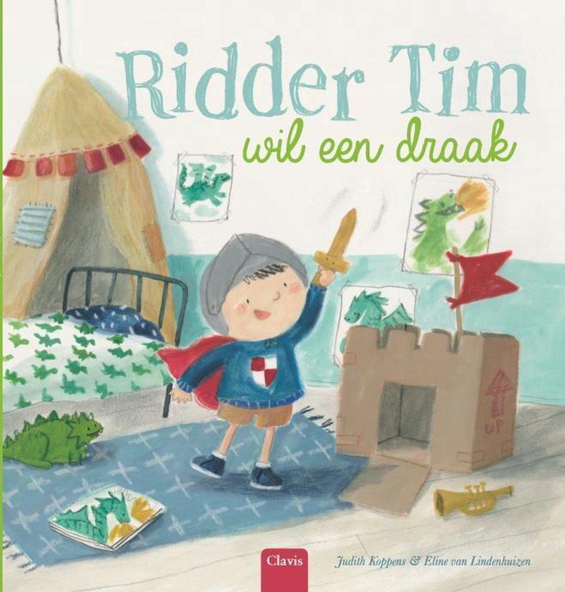 bol.com   Ridder Tim wil een draak, Judith Koppens   9789044829907   Boeken
