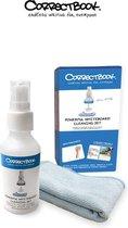 Correctbook schoonmaakkit - spray en microfiber doek